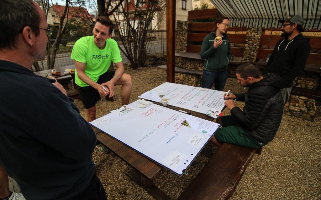 In einem kooperativen Workshop arbeiten wir mit ihren Leistungsträgern am MTB-Kommunikationskonzept.